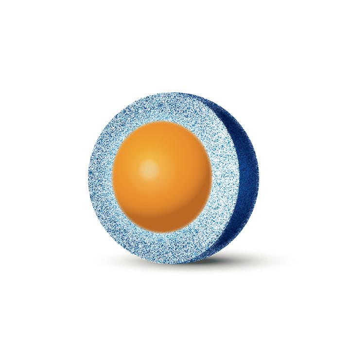 90 Å 2 µm molecule