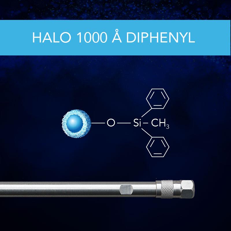 HALO® 1000 Å Diphenyl Column