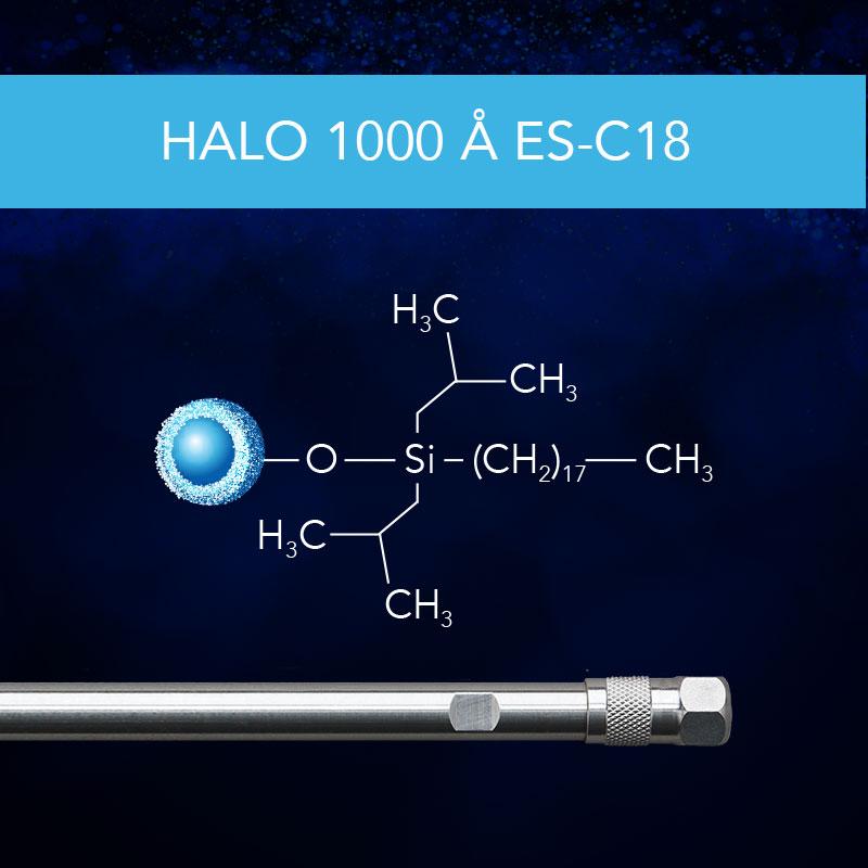 HALO® 1000 Å ES-C18
