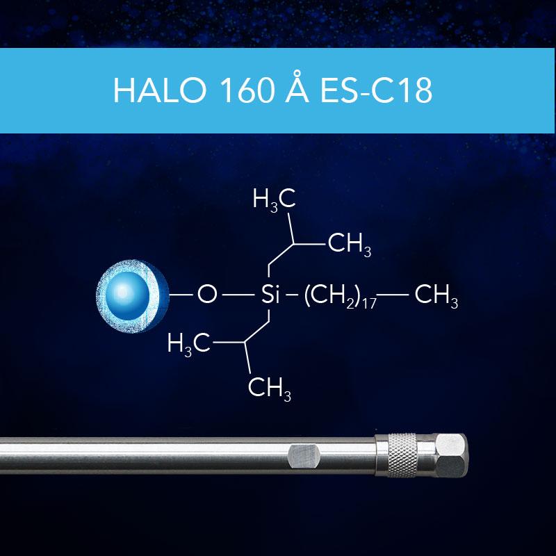 HALO® 160 Å ES-C18