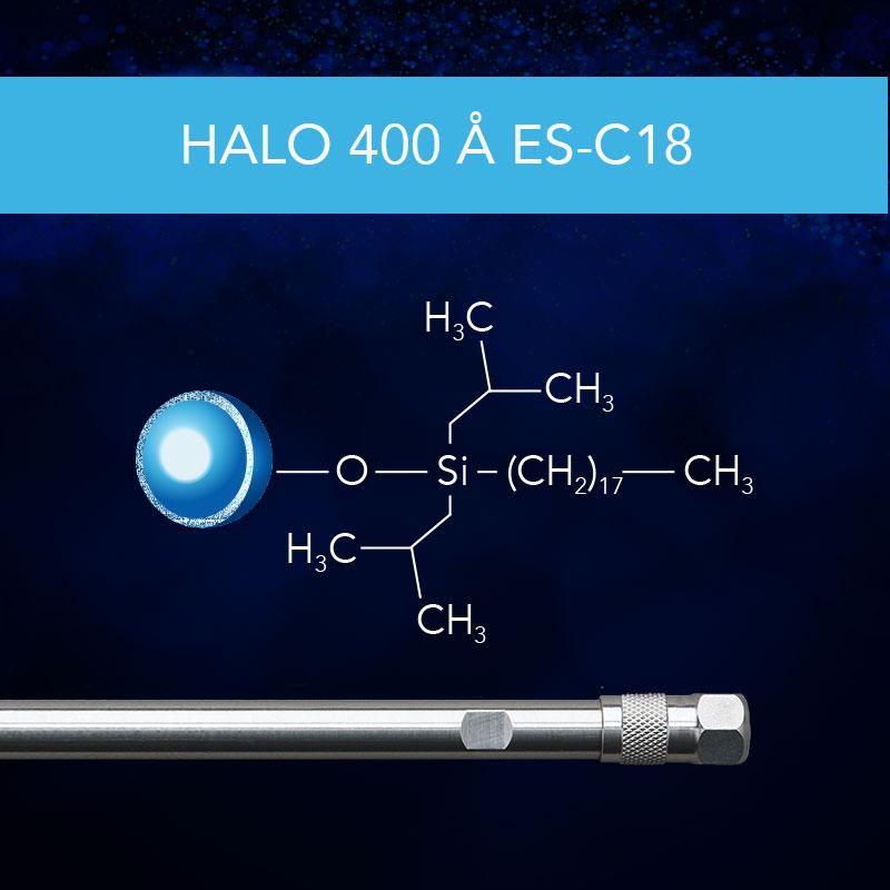 HALO® 400 Å ES-C18