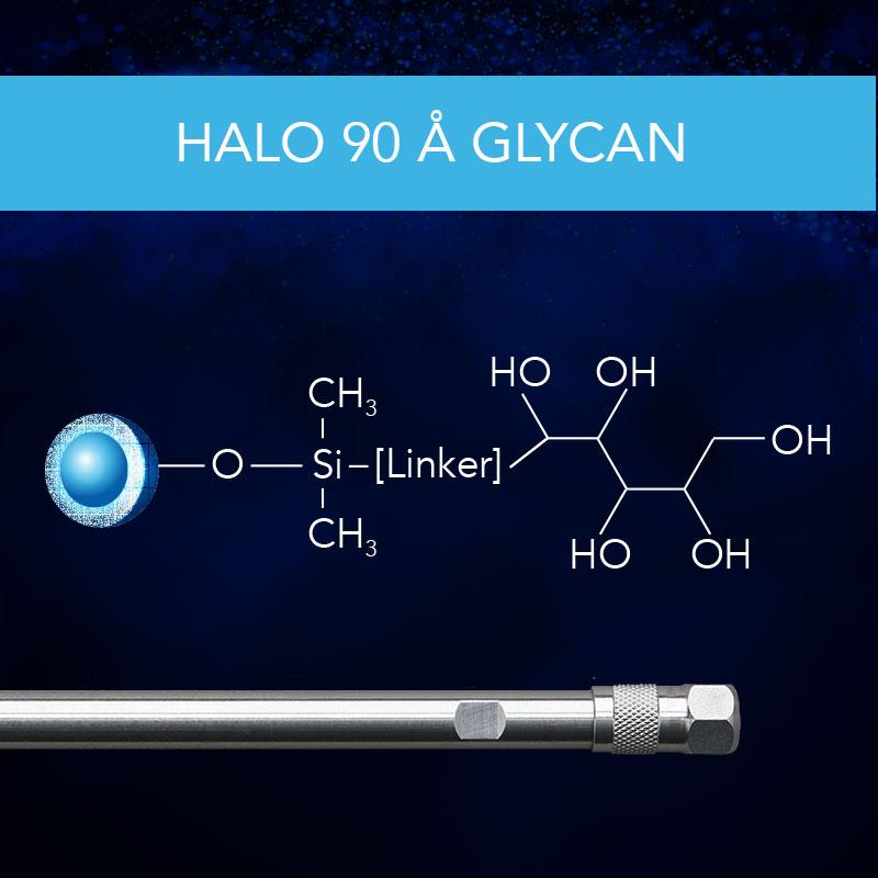 HALO® 90 Å Glycan