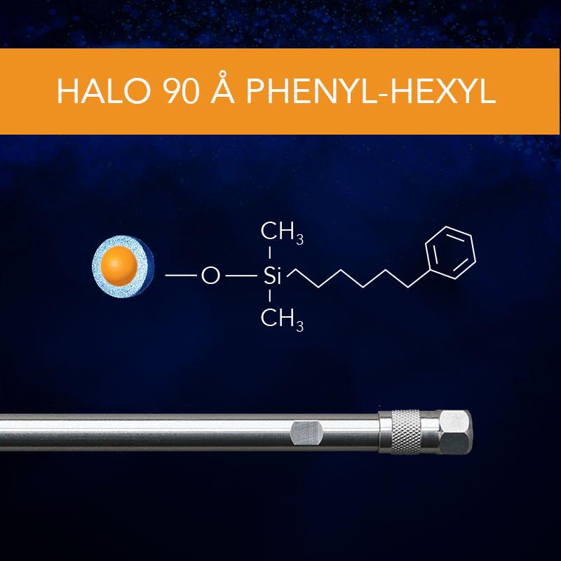 HALO® 90 Å Phenyl-Hexyl