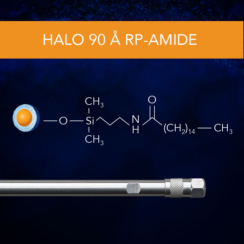 HALO® 90 Å RP-Amide