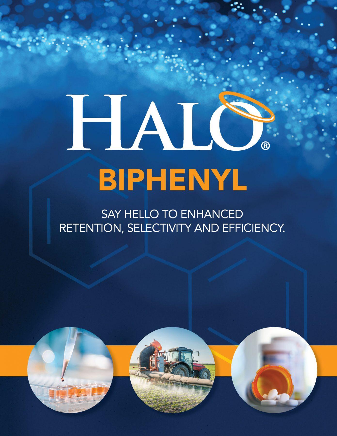 biphenyl column