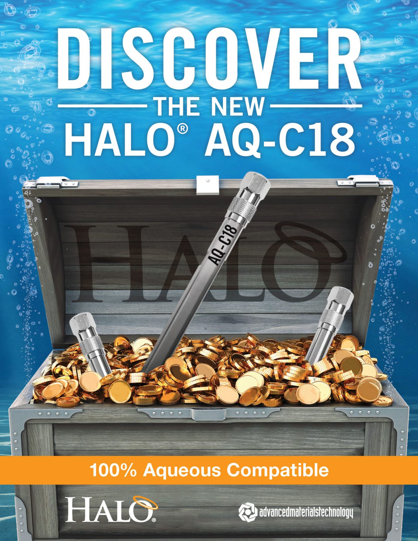 discover the new halo aq-c18 column
